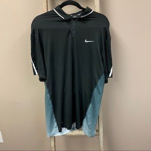 Nike dri fit tiger woods collection ombré polo